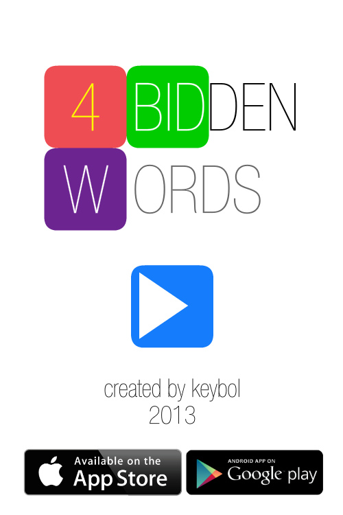 4bidden Words