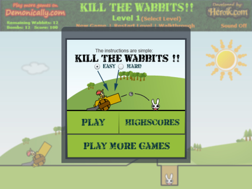 screen_kill_the_wabbits.png, Size 500×375