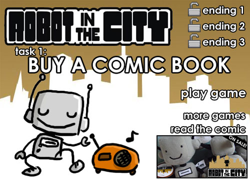 Robot in the city - Buy a comics