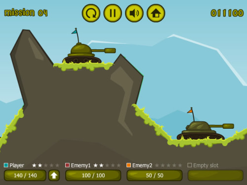 tanks flash game