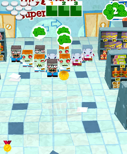 Zombies 4 Hire: Supermarket Bowl